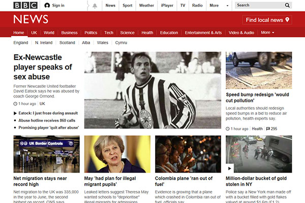 BBC UK News